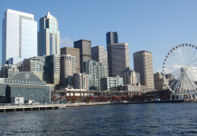 Seattle hotel skyline