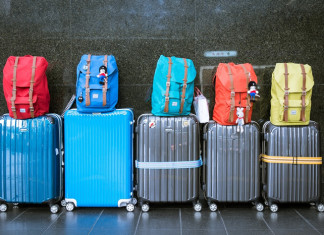 Luggage post